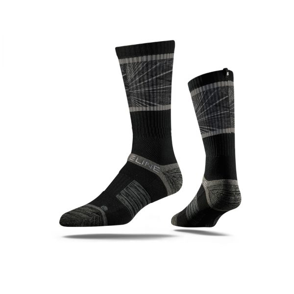 Limited Edition Strideline Crew Socks Shattered 2.0