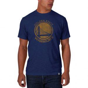 Golden State Warriors Bleacher Blue Scrum Tee
