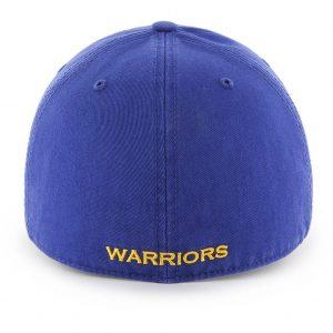 Golden State Warriors Royal Blue Franchise Cap Back