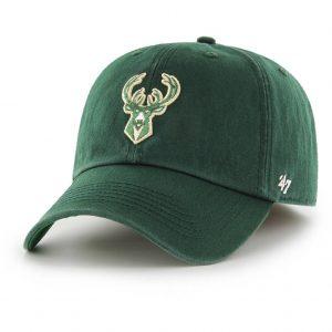 Milwaukee Bucks Dark Green Franchise Cap