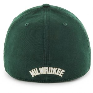 Milwaukee Bucks Dark Green Franchise Cap Back