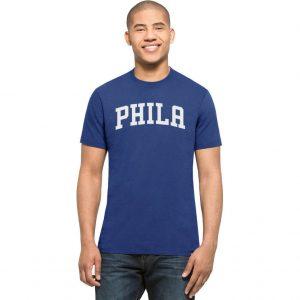 Philadelphia 76ers Royal MVP Splitter Tee