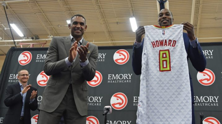 Hawks minority owner Grant Hill applauds Dwight Howard