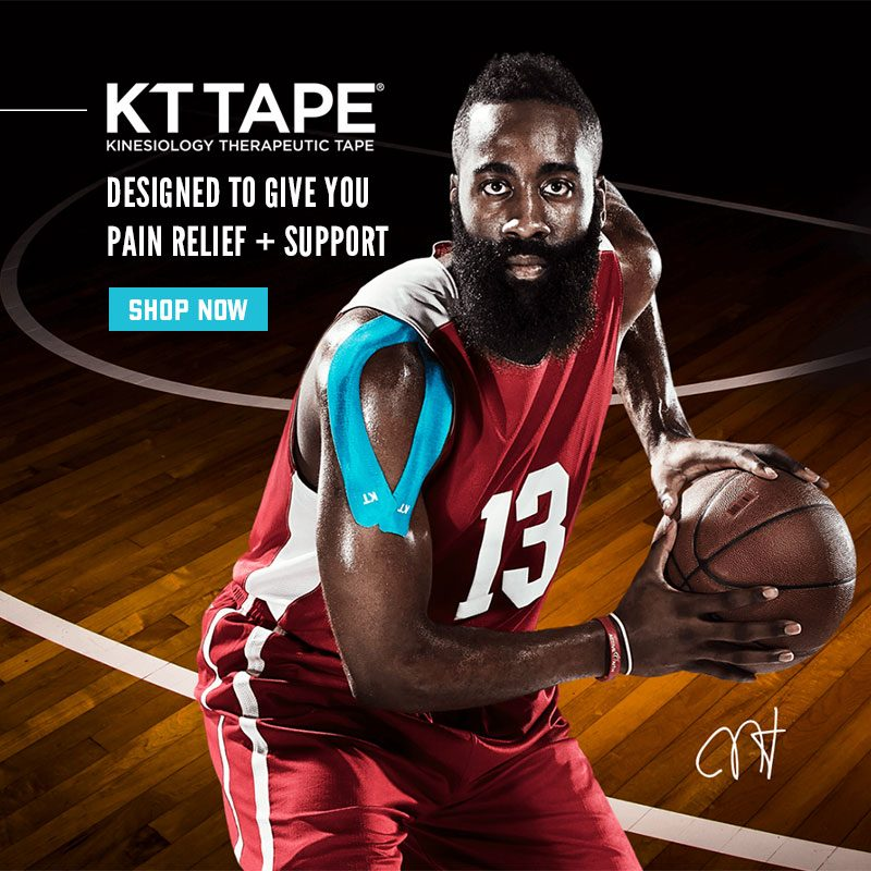 KT Tape as worn by James Harden