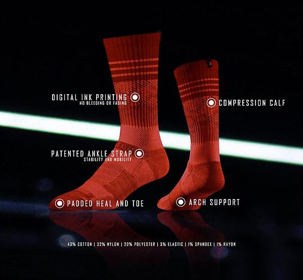 Strideline Sock Specs
