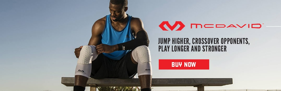 McDavid Compression Leg Sleeves with Harrison Barnes