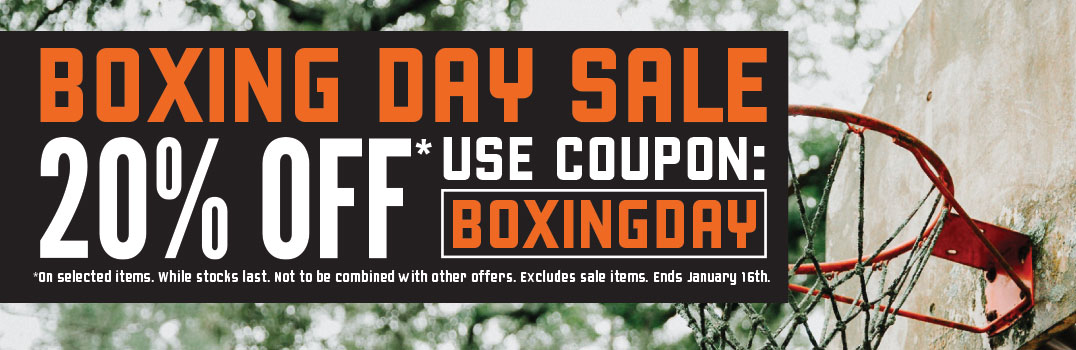 2018 Boxing Day Sale The Baller Store 20% off